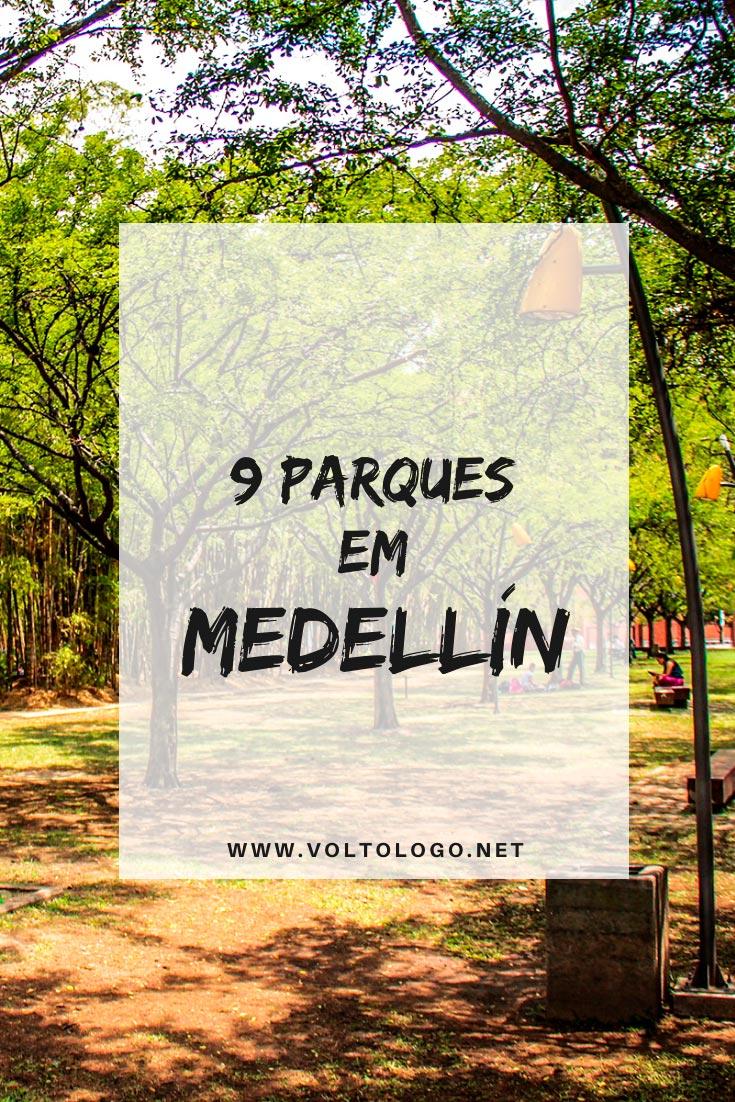 Parques em Medellín, na Colômbia: Descubra quais são os melhores espaços públicos para você incluir no seu roteiro de viagem!
