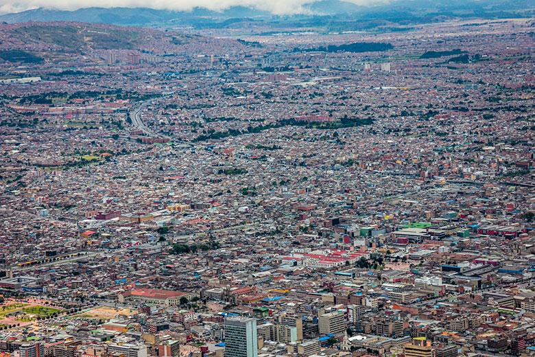roteiro de viagem para Bogotá