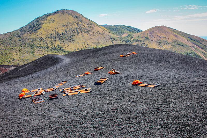 Hostel Bigfoot, León, Nicarágua (Volcano Boarding)