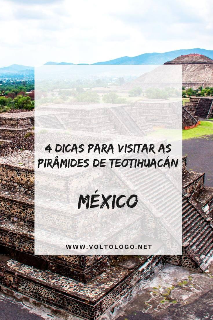 Pirâmides de Teotihuacán, no México: Dicas práticas para você organizar o seu passeio. [Onde fica, como chegar e quais as melhores formas de visitar. Com tour ou por conta própria!]
