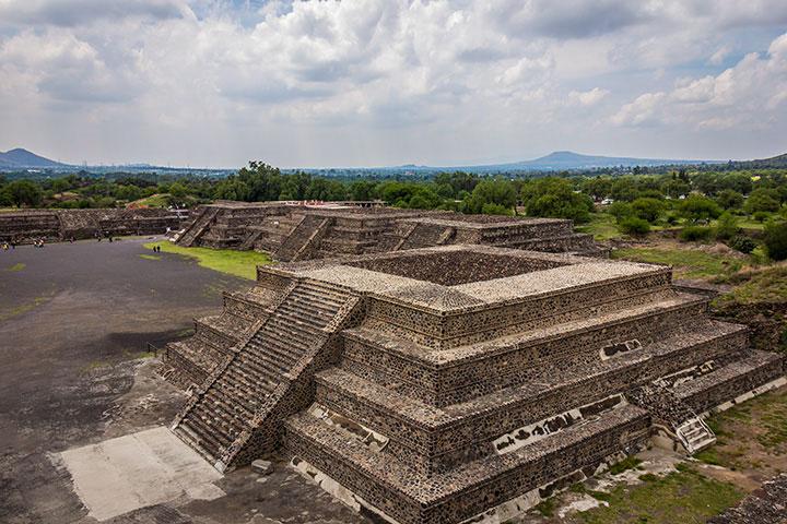 como chegar nas Pirâmides Teotihuacán