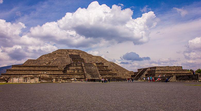 passeios para as Pirâmides de Teotihuacán