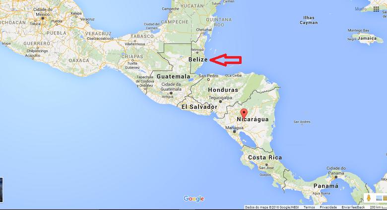 onde ficar Belize?