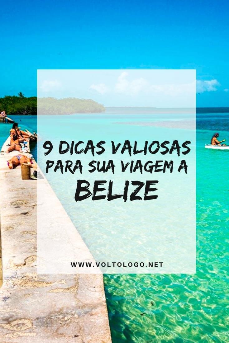 Viagem a Belize: Descubra como organizar o seu roteiro com dicas práticas sobre melhor época para viajar, quantos dias ficar, visto, câmbio, lugares para conhecer, passeios, hospedagem e segurança.