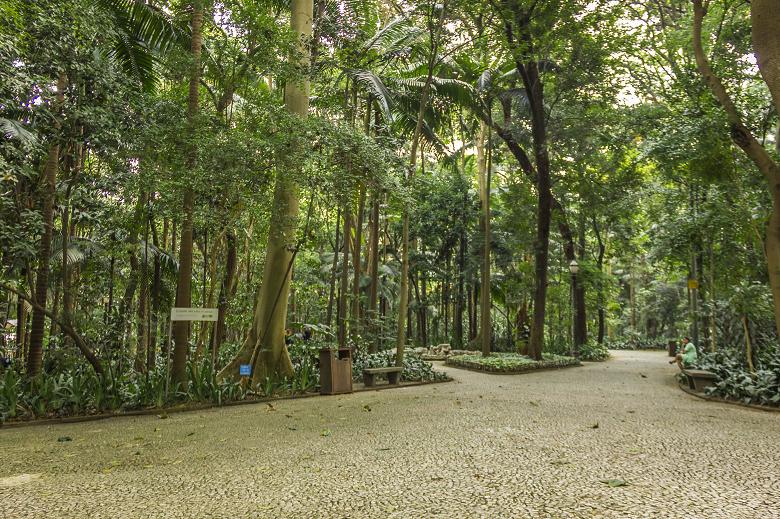 parques para relaxar