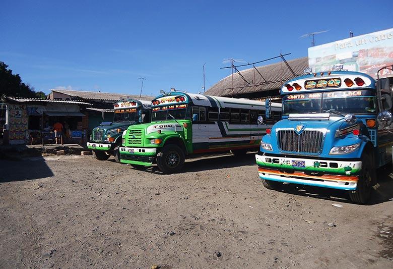 dicas para se locomover de ônibus na América Central