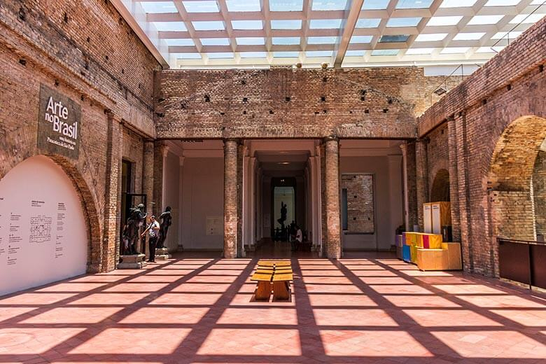 dica do que fazer no centro de São Paulo - Pinacoteca