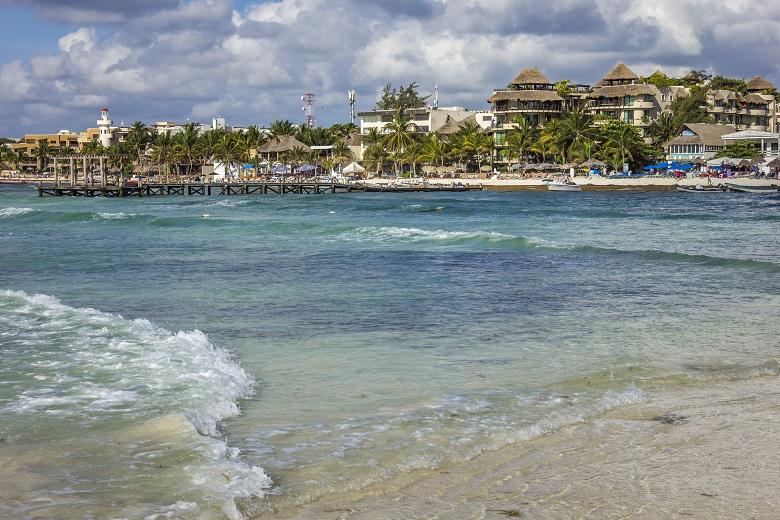praias do Caribe no México