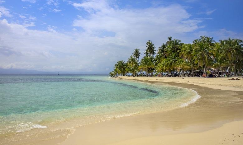 praias do Caribe - mapa