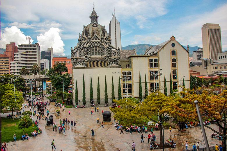 onde se hospedar em Medellín - dicas