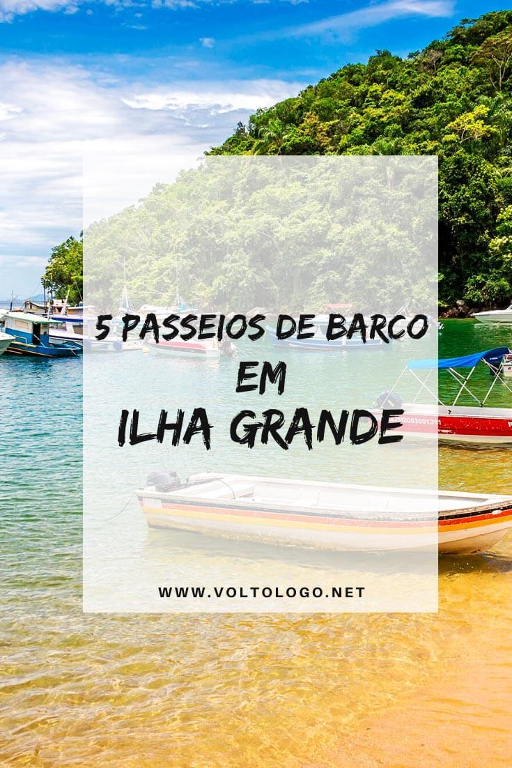 Passeios de barco em Ilha Grande, no Rio de Janeiro: Descubra quais são os tours mais legais para você incluir no seu roteiro de viagem! [Escuna ou lancha pelas principais praias]