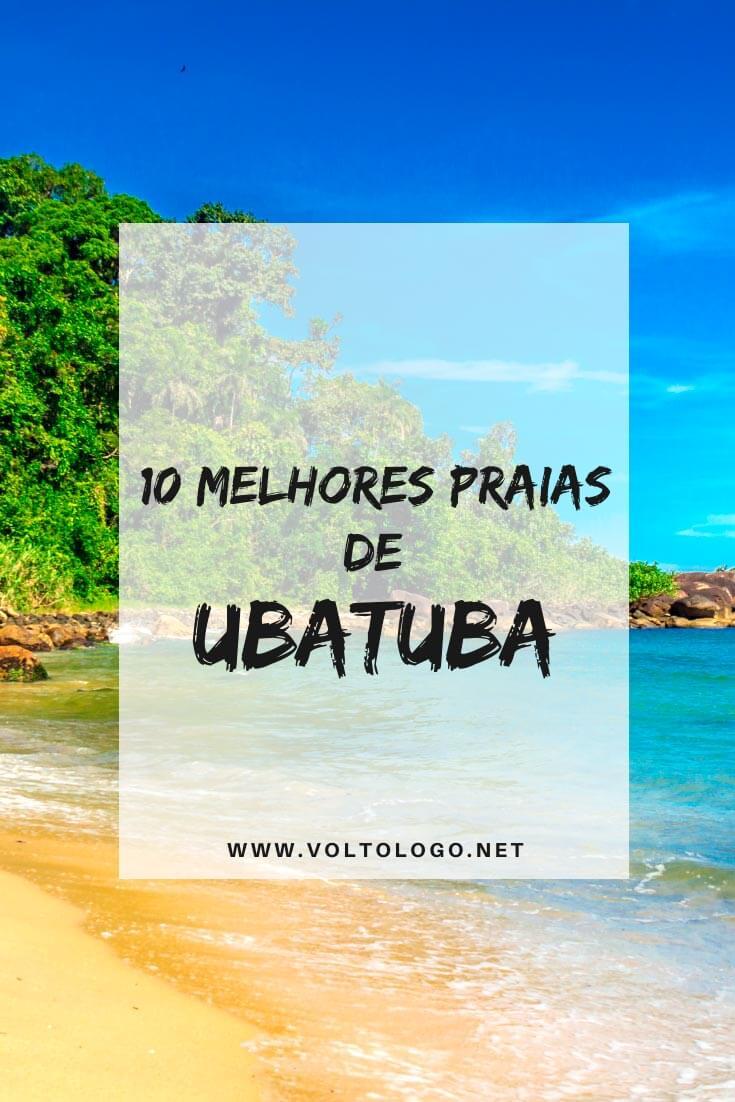 Praias de Ubatuba, em São Paulo: Descubra quais são os melhores pedaços de areia para você incluir no seu roteiro pelo litoral norte de São Paulo. [Inclui fotos, mapas e distâncias entre as praias]