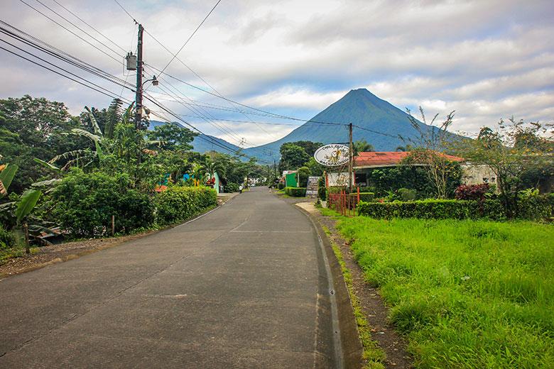 Costa Rica - destinos de vulcões