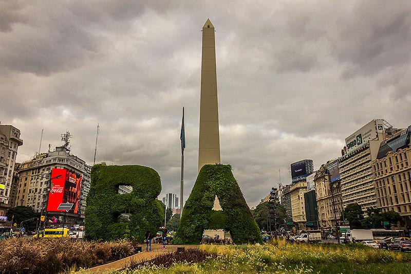atrações turísticas em Buenos Aires - Obelisco