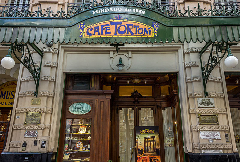 Café Tortoni - melhores pontos turísticos em Buenos Aires
