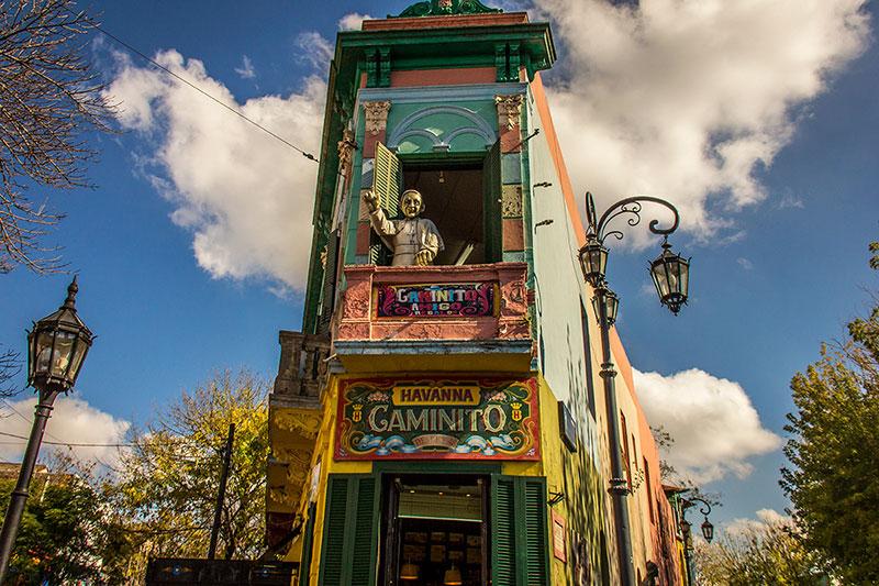 pontos turísticos em Buenos Aires Rua Caminito