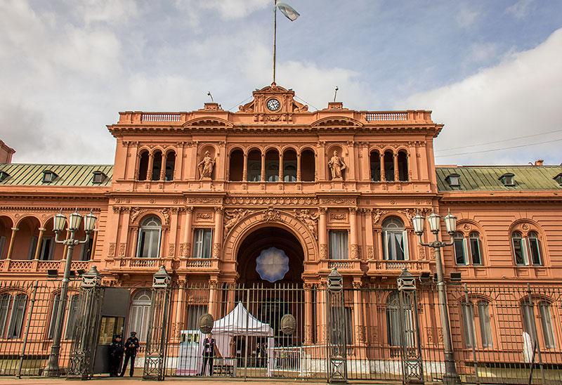 pontos turísticos em Buenos Aires - Casa Rosada