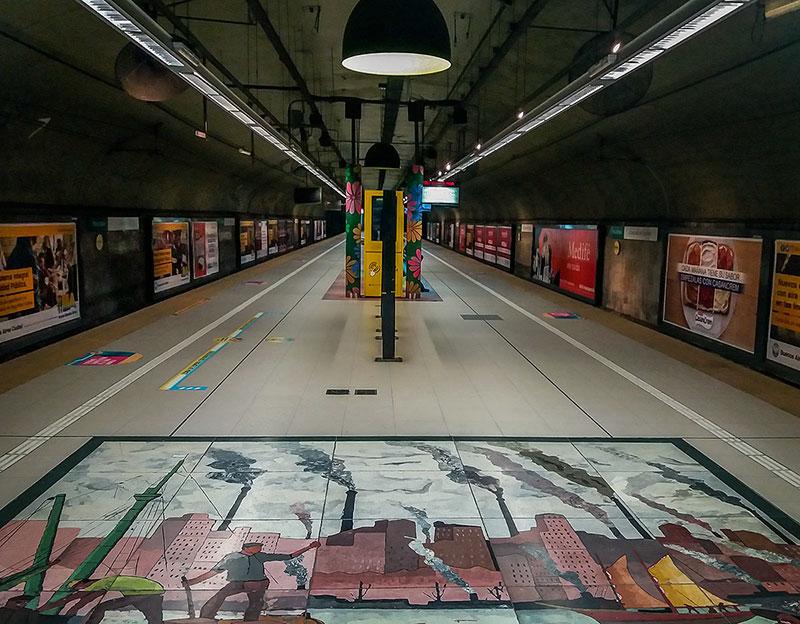metrô e transporte público em Buenos Aires