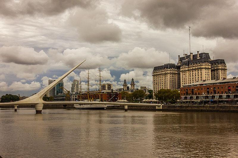 Puente de la Mujer - Buenos Aires