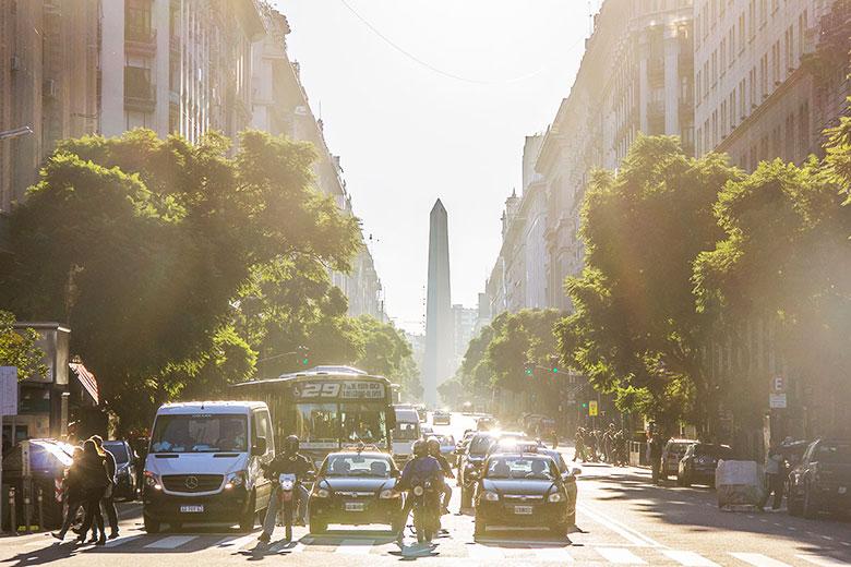 preço de transporte em Buenos Aires