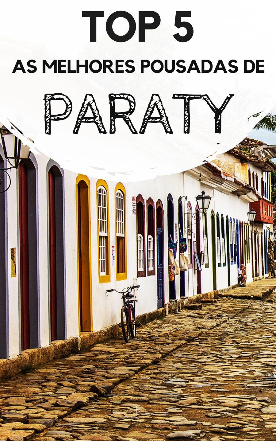 As melhores pousadas em Paraty, no Rio de Janeiro. Descubra lugares para se hospedar na cidade histórica mais apaixonante do Rio, onde sua estadia certamente será inesquecível.