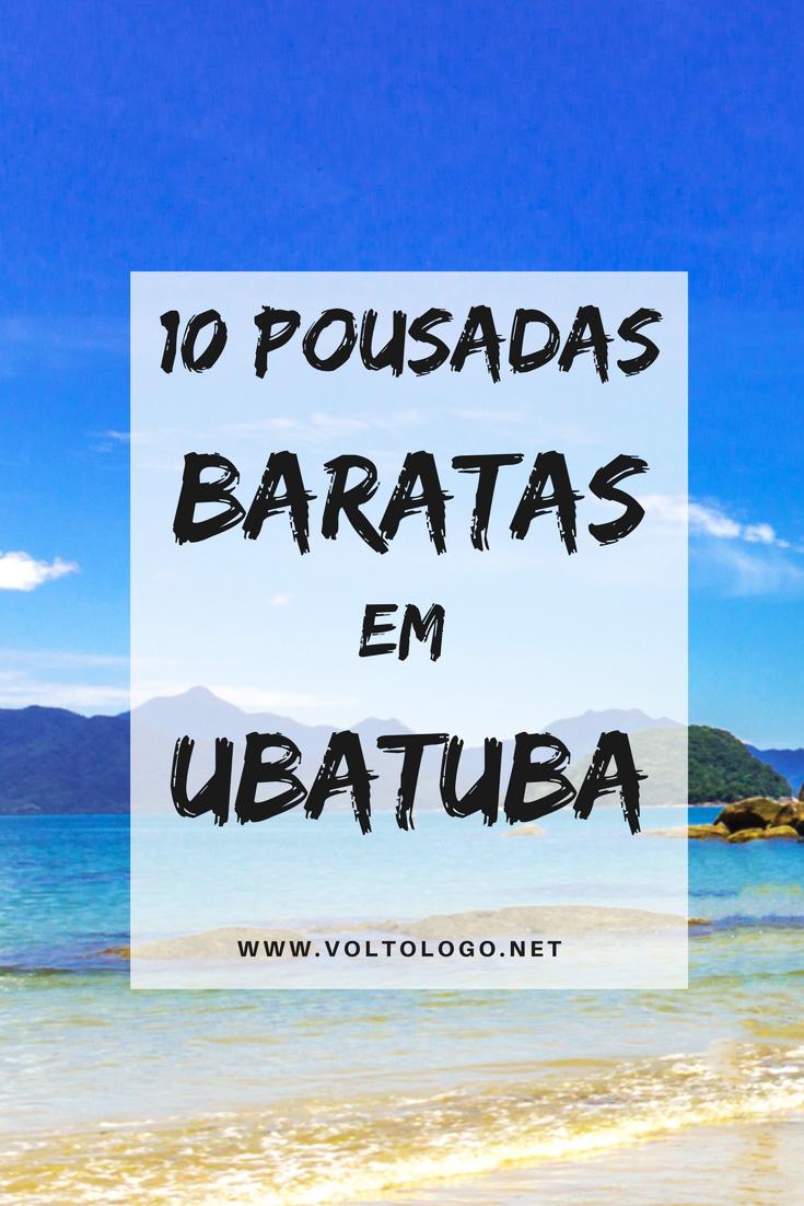 10 Pousadas Baratas Em Ubatuba Litoral Norte De S 227 O Paulo