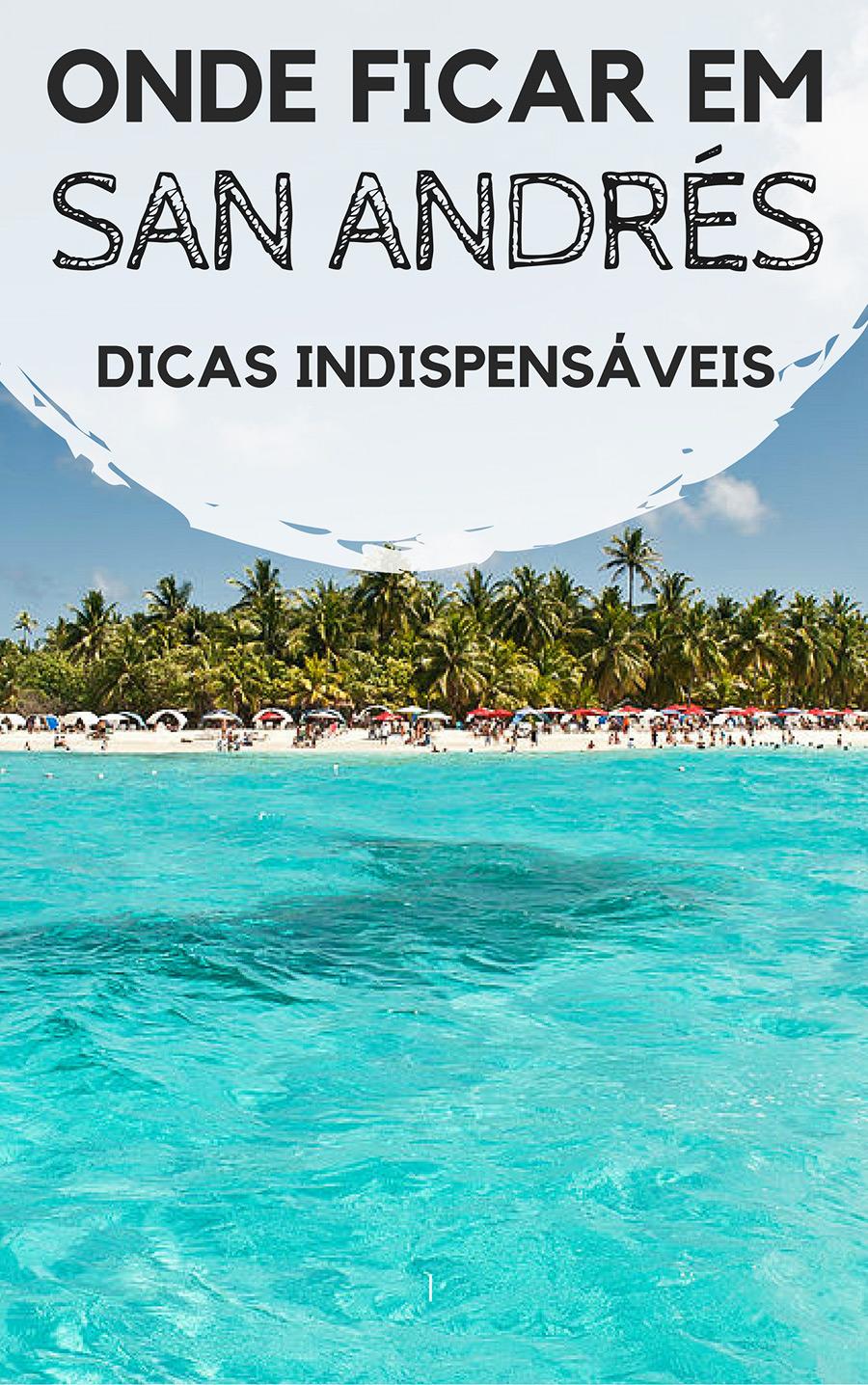 Onde ficar em San Andrés, na Colômbia: Dicas indispensáveis para a sua viagem. Descubra qual a melhor região para se hospedar, além de dicas de hostels, hotéis e resorts que valem a pena na ilha mais famosa do caribe colombiano.
