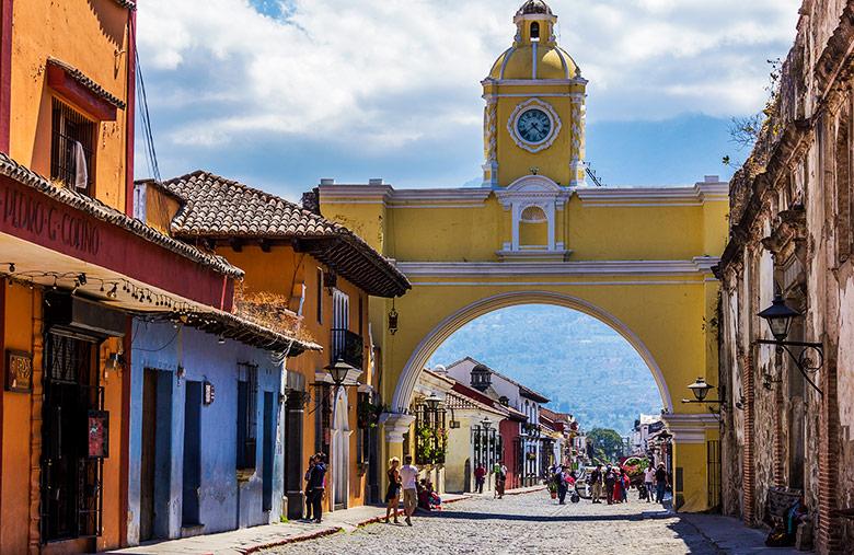 Antigua - Cidades para viajar e fazer turismo na Guatemala