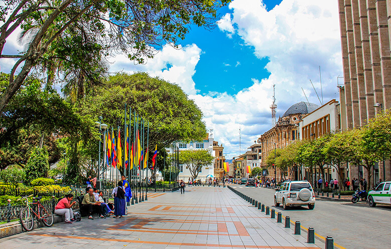 melhores bairros para ficar em Cuenca
