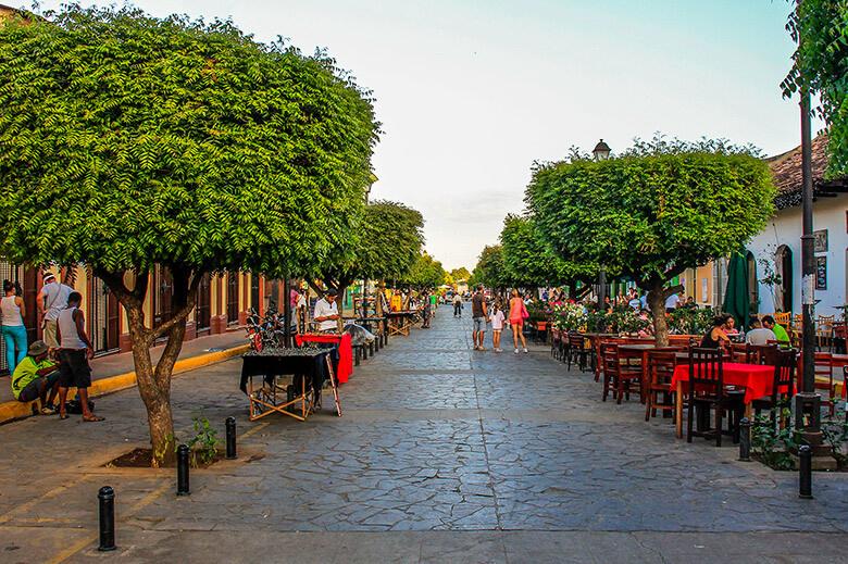 onde ficar em Granada, na Nicarágua?