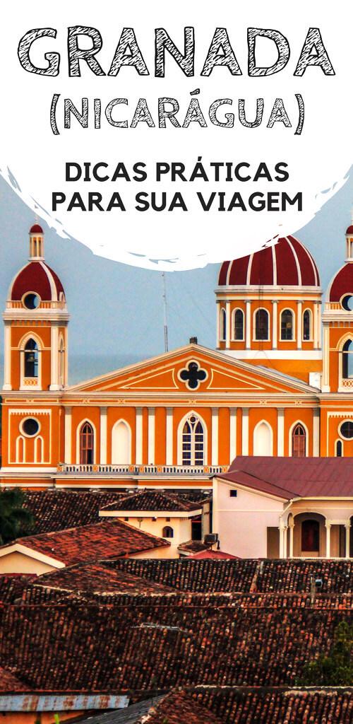 Granada, na Nicarágua: Dicas de viagem, turismo e mochilão. Descubra como chegar na cidade colonial, qual a melhor região para se hospedar, hostels e hotéis, além de dicas do que fazer, passeios e atrações turísticas.