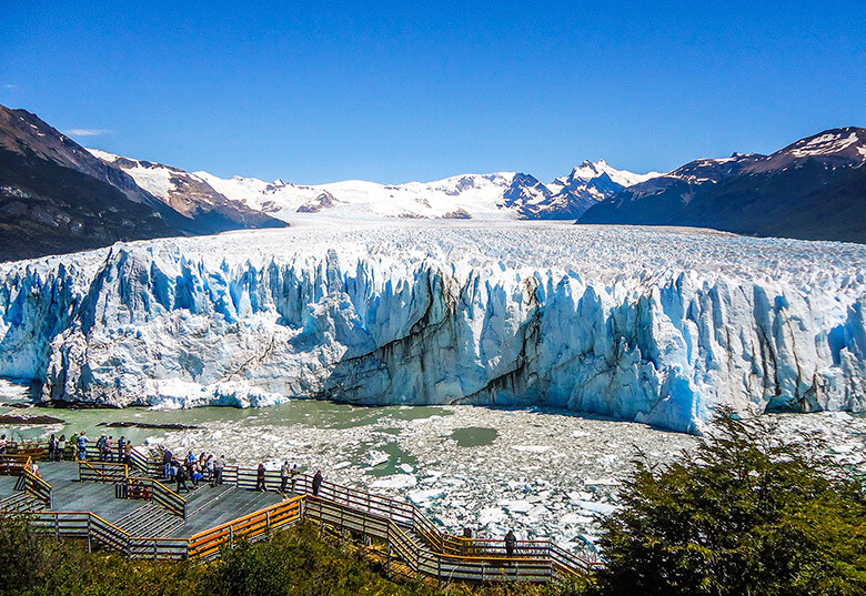 El Calafate e o Perito Moreno, na Argentina
