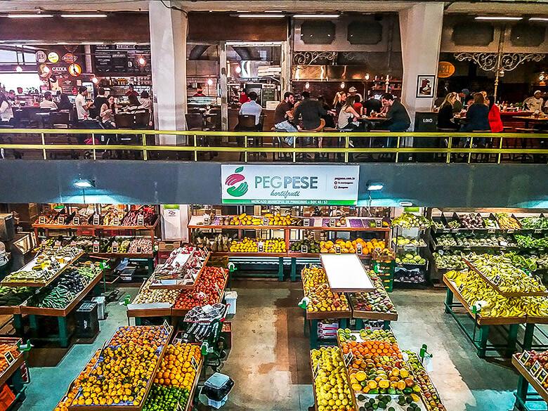 roteiro gastronômico em São Paulo - Mercado de Pinheiros