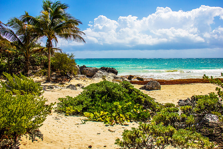 verão no Caribe mexicano