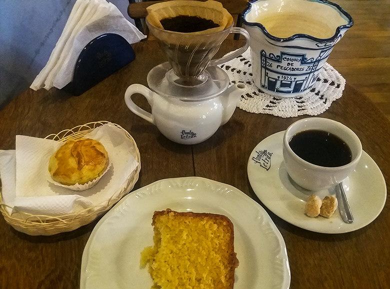 cafeteria em Ilhabela