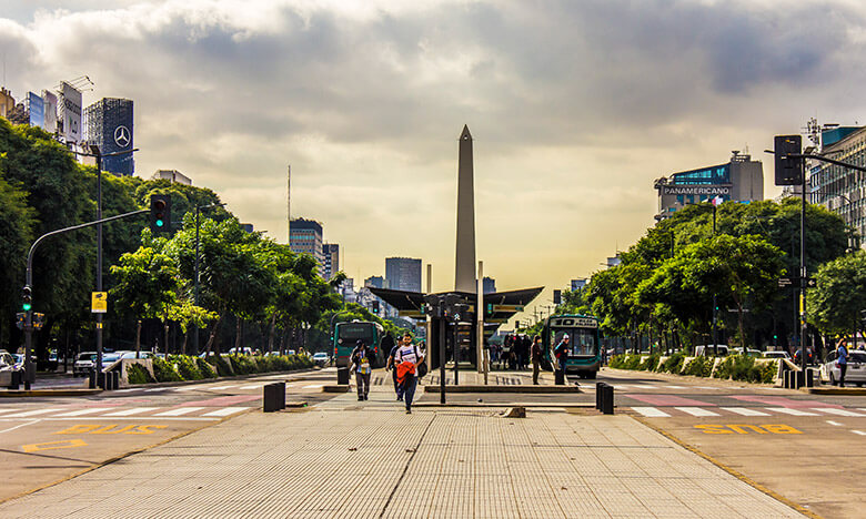centro de Buenos Aires - Dicas de transporte