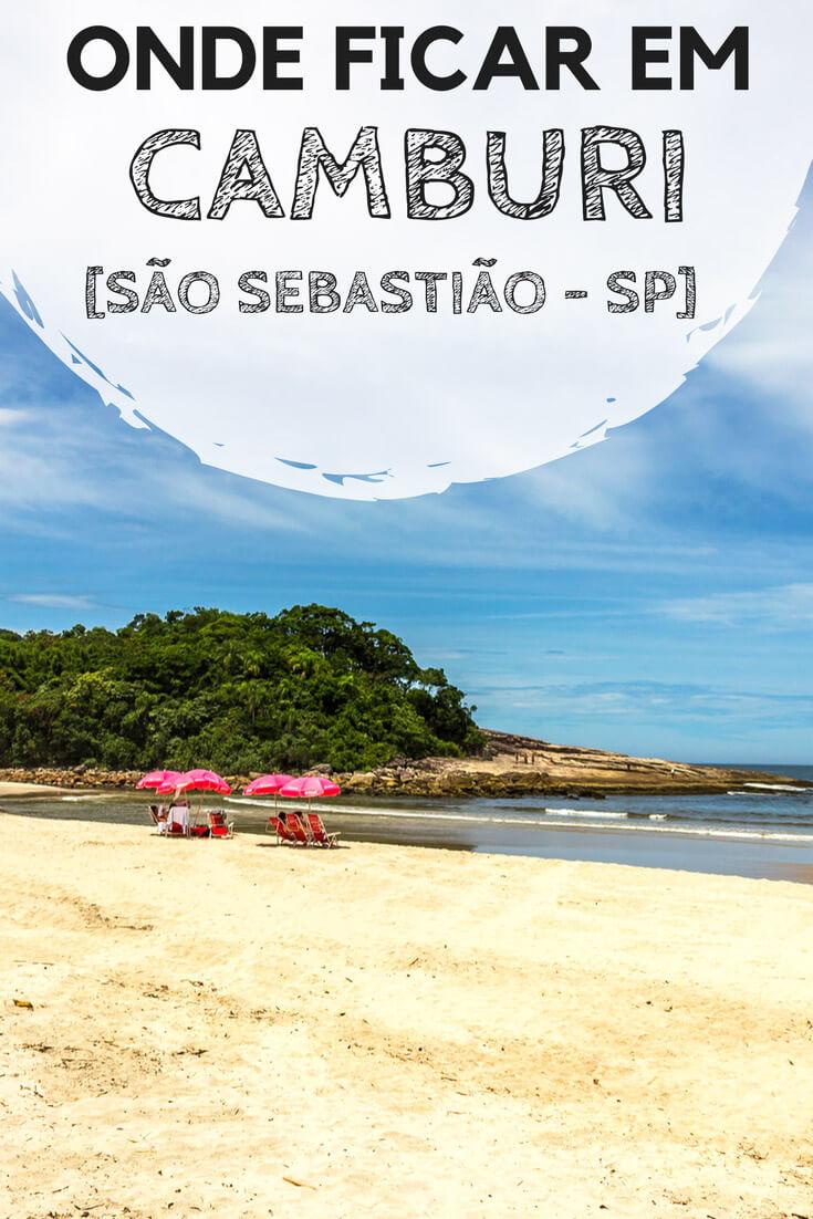 Onde ficar em Camburi, no litoral norte de São Paulo. Dicas para você entender qual o melhor lugar pra você, além de indicações de pousadas com excelente custo-benefício.