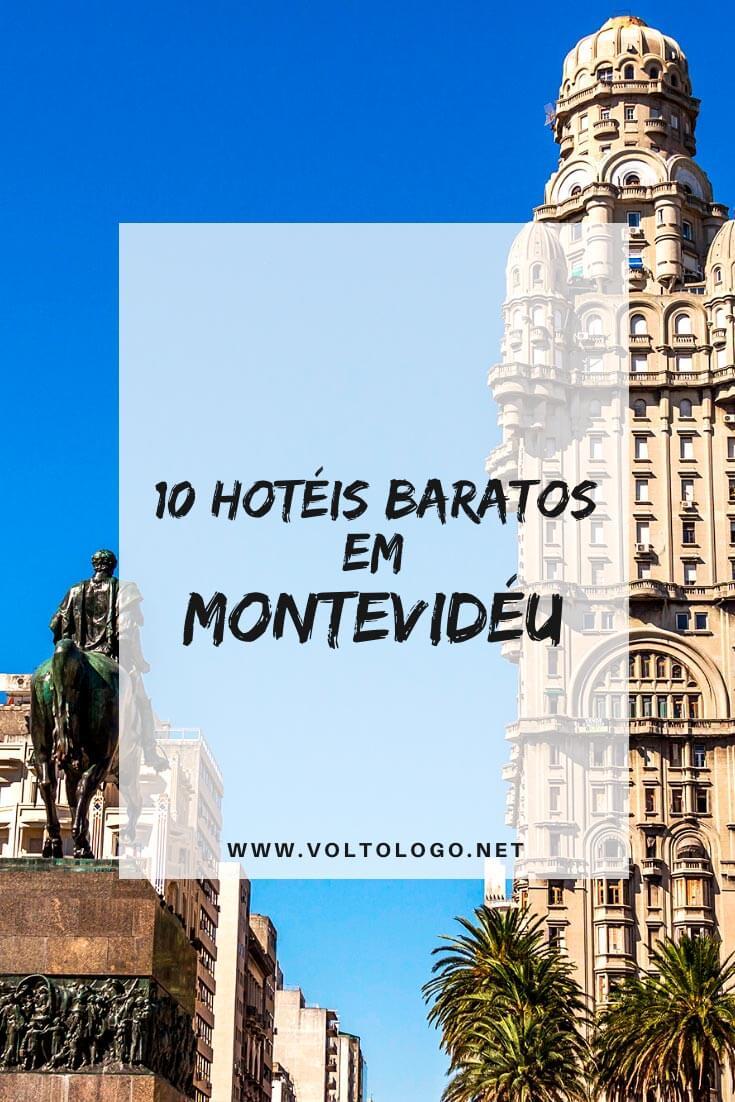 Hotéis baratos em Montevidéu, no Uruguai: Dicas de lugares baratos para se hospedar durante a sua viagem!