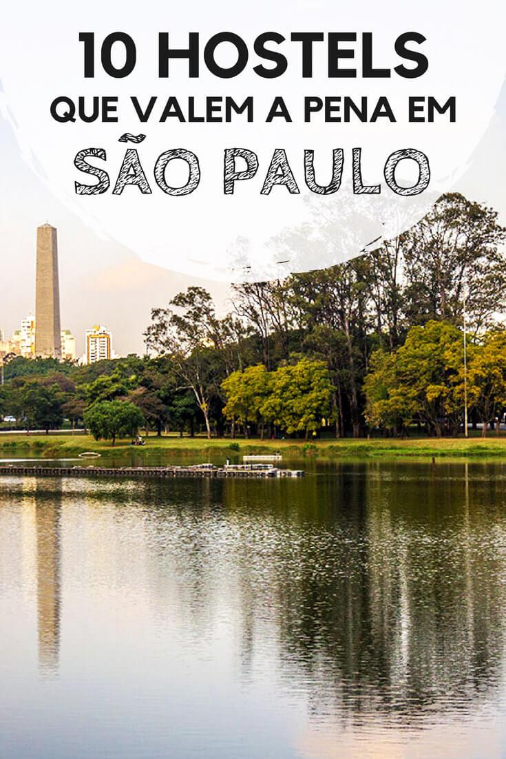 Hostels em São Paulo: 10 indicações de albergues que valem a pena nos bairros mais convenientes de Sampa.