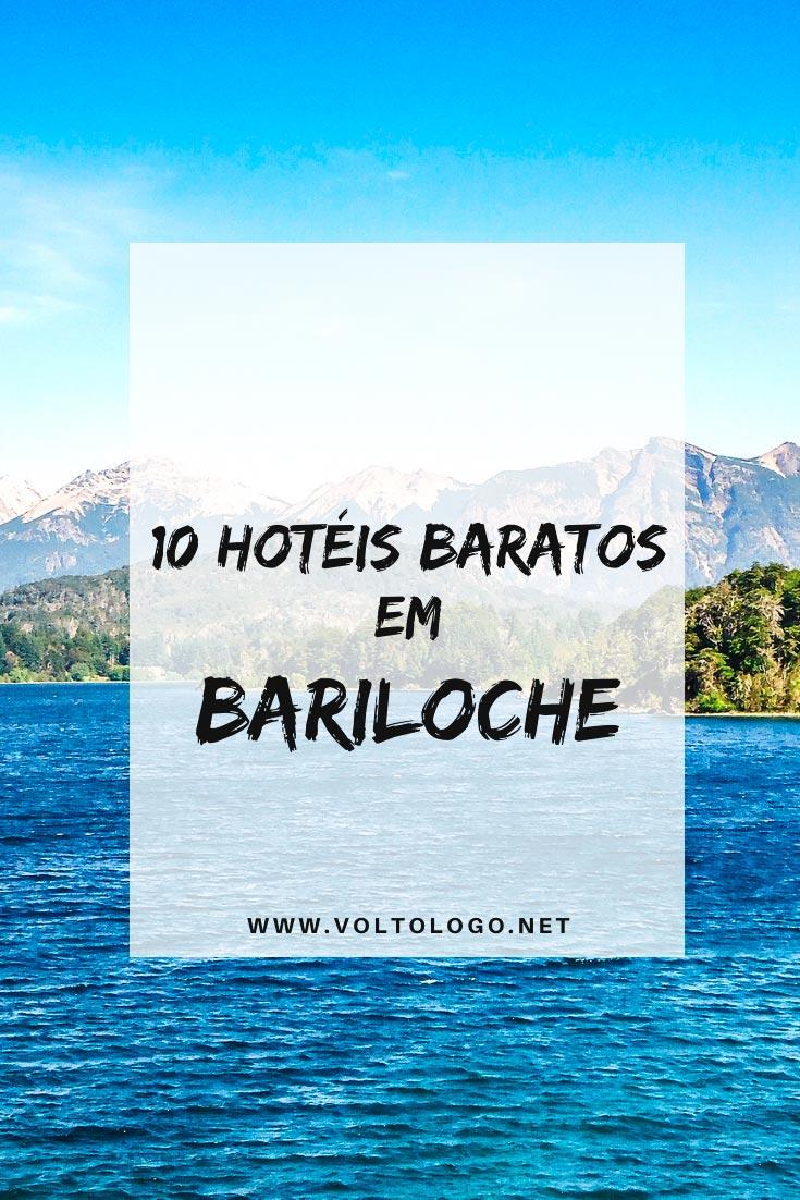 Hotéis baratos em Bariloche, na Argentina: Dicas de lugares baratos para se hospedar durante a sua viagem!