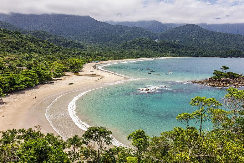 melhor praias de Ilhabela - Castelhanos
