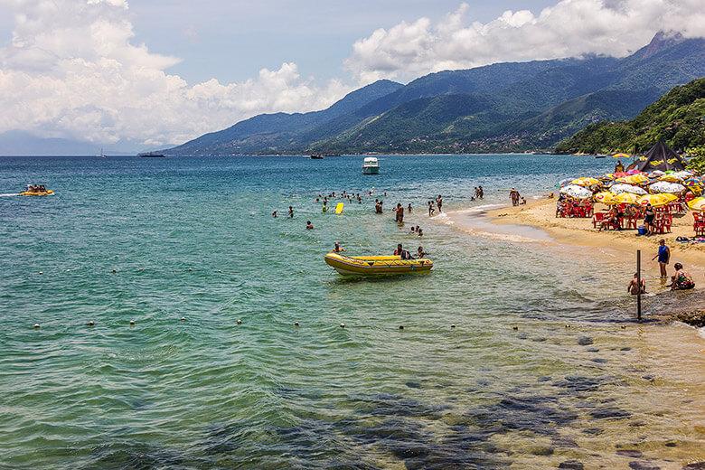melhores praias em Ilhabela - São Paulo
