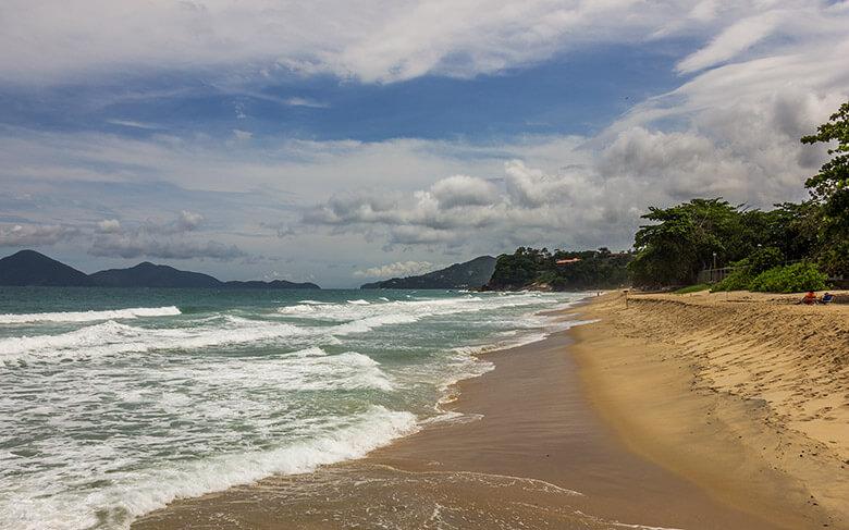 melhores praias do litoral norte de São Paulo - Vermelha do Centro - Ubatuba