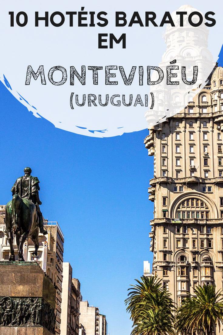 Hotéis em Montevidéu, no Uruguai. 10 dicas de acomodações econômicas para você se hospedar bem durante sua viagem à capital uruguaia.