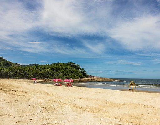 onde ficar em Camburi litoral de São Paulo