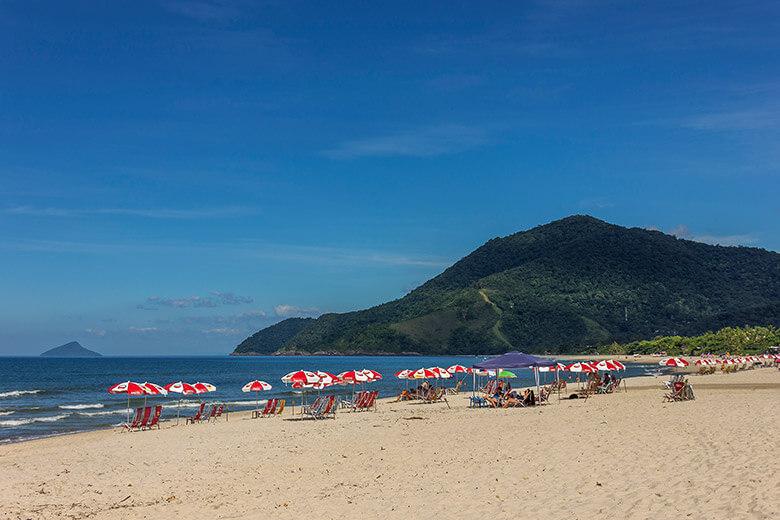 praia mais bonita de São Sebastião