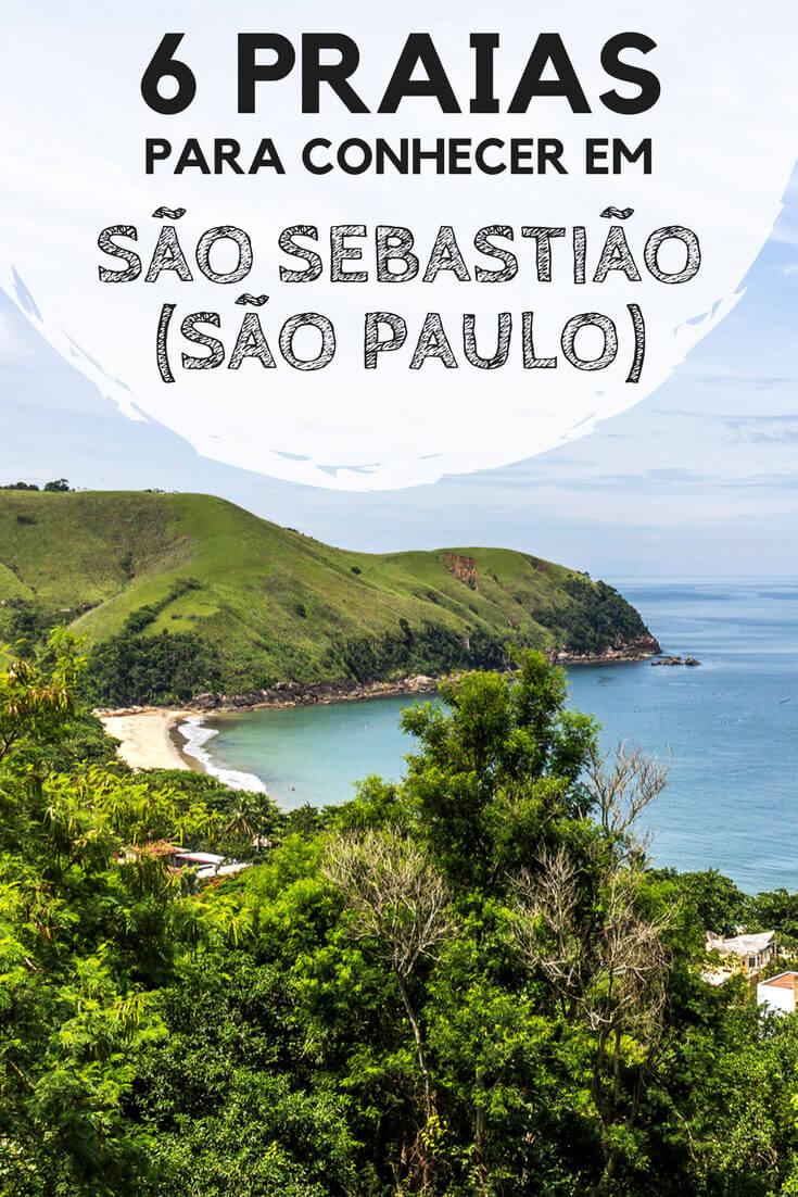 6 praias para conhecer em São Sebastião, no litoral norte de São Paulo. Descubra quais foram as minhas favoritas, e os motivos pelos quais elas me conquistaram.