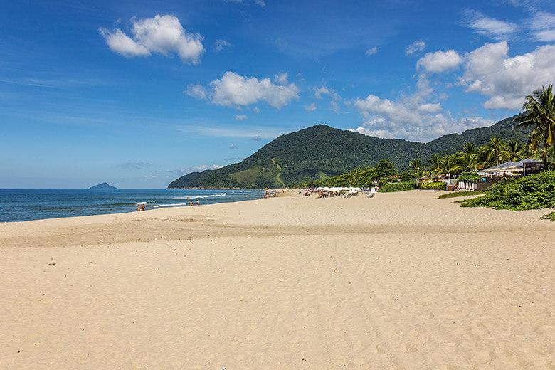 praias no litoral norte de São Paulo - Maresias