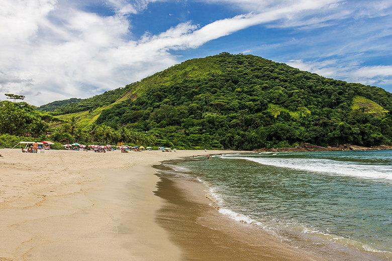 melhores praias para se hospedar em são sebastião - camburizinho