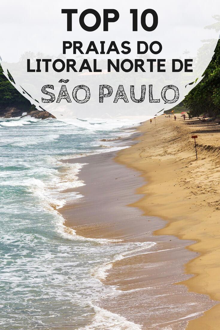 As 10 melhores praias do litoral norte de São Paulo. Surpreenda-se com verdadeiros paraísos em Ilhabela, São Sebastião e Ubatuba.